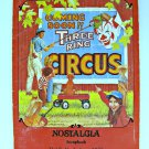 Vintage Nostalgia Scrapbook Magazine June 1985 Vol 2 No 3 Circus Dead End Kid