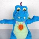"Dragon Tales Flying Ord 7"" Stuffed Animal Toy Playskool Blue 1999 Vintage Plush"