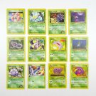 Lot Pokemon Trading Cards Nintendo First Edition Base 1999 Weedle Koffing Koga ✔