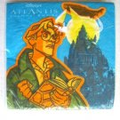 Disney Atlantis Cocktail Paper Napkins Servietten Collectible Movie Paper Old