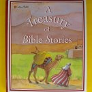 Treasury Of Bible Stories Golden Book Childrens Illustrated New Old Testament
