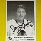 Jason Labarbera Portland WinterHawk Signed Photograph Photo Picture 1996 1997