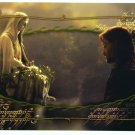 Czech Fellowship Postcard - Aragorn in Rivendell