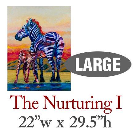 The Nurturing I � Zebras - LARGE