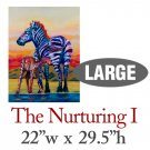 The Nurturing I – Zebras - LARGE