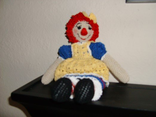 Raggedy Type Doll