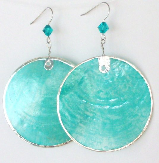 earrings-Rounded Turquoise-302