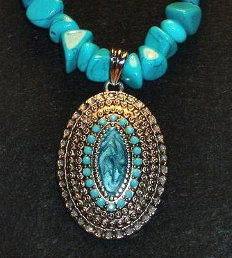 necklace-Turquoise Princess-TurqN101