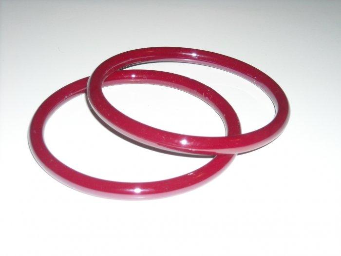 Paprika Glass Bangles