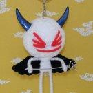 Big Head White Devil Voodoo Doll Keychain Bag Accessories B01