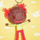 Big Head Voodoo Doll Keyring Keychain Bag Accessories B02