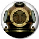 Gentleman Diver 3, Steampunk 1 Inch Pinback Button Badge - 6055