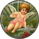 Vintage Valentine's Day Graphics 1 Inch Pinback Button Badge - 2086