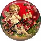 Vintage Valentine's Day Graphics 1 Inch Pinback Button Badge - 2097