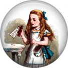 Drink Me, Classic Alice in Wonderland 1 Inch Button Badge Pin - 0045