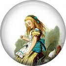 Alice on Trial, Classic Alice in Wonderland 1 Inch Button Badge Pin - 0043
