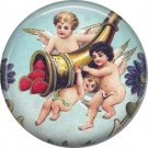 Vintage Valentine's Day Graphics 1 Inch Pinback Button Badge - 2110