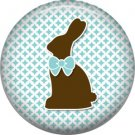 Bunny Love, Easter 1 Inch Button Badge Pin Pinback Button - 2042