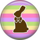 Bunny Love, Easter 1 Inch Button Badge Pin Pinback Button - 2047