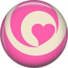 Wild Love Valentine's Day 1 Inch Pinback Button Badge Pin - 2116
