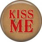 Wild Love Valentine's Day 1 Inch Pinback Button Badge Pin - 2119