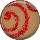 Wild Love Valentine's Day 1 Inch Pinback Button Badge Pin - 2122