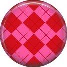 Wild Love Valentine's Day 1 Inch Pinback Button Badge Pin - 2124