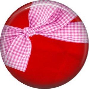 Wild Love Valentine's Day 1 Inch Pinback Button Badge Pin - 2127