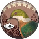 Talking Birds 1 Inch Pinback Button Badge Pin - 4026