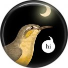 Talking Birds 1 Inch Pinback Button Badge Pin - 4027