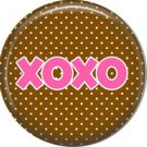 Wild Love Valentine's Day 1 Inch Pinback Button Badge Pin - 2131