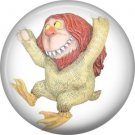Where the Wild Things Are 1 Inch Pinback Button Badge Pin - 0079