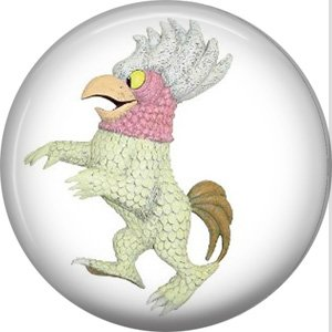 Where the Wild Things Are 1 Inch Pinback Button Badge Pin - 0081