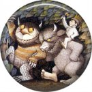 Where the Wild Things Are 1 Inch Pinback Button Badge Pin - 0083