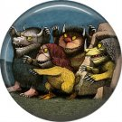 Where the Wild Things Are 1 Inch Pinback Button Badge Pin - 0086