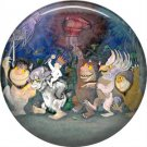 Where the Wild Things Are 1 Inch Pinback Button Badge Pin - 0088