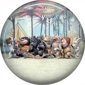 Where the Wild Things Are 1 Inch Pinback Button Badge Pin - 0089