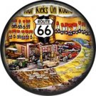 Main Street America Route 66 1 Inch Americana Button Badge Pinback - 0424