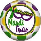 Mardi Gras Mask 1 Inch Button Badge Pin Pinback Button - 0069