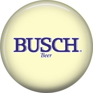 Busch Beer, 1 Inch Food and Drink Pinback Button Badge - 0408