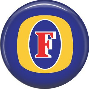 Fosters Beer, 1 Inch Food and Drink Pinback Button Badge - 0406