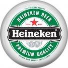 Heineken Beer Premium Quality, 1 Inch Food and Drink Pinback Button Badge - 0398