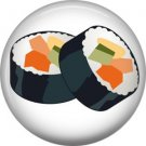 Makizushi, Sushi 1 Inch Button Badge Pin - 0297