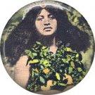 Hula Dancer, One Inch Vintage Hawaiian Image on Ephemera Lapel Pin Button Badge - 0921