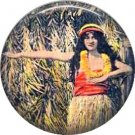 Vintage Hawaii Image on 1 Inch Pinback Button Badge Pin - -0939