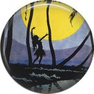 Vintage Hawaii Image on 1 Inch Pinback Button Badge Pin - -0963