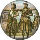 Vintage Hawaii Image on 1 Inch Pinback Button Badge Pin - -0969
