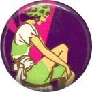 Art Deco Girls, 1 Inch / 25.4 mm Button Badge Pin Back - AD14