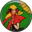 Art Deco Girls, 1 Inch / 25.4 mm Button Badge Pin Back - AD21