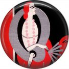 Art Deco Girls, 1 Inch / 25.4 mm Button Badge Pin Back - AD22